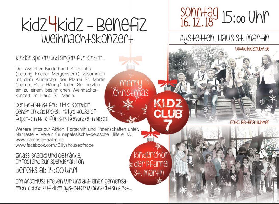kidz4kidz-Flyer